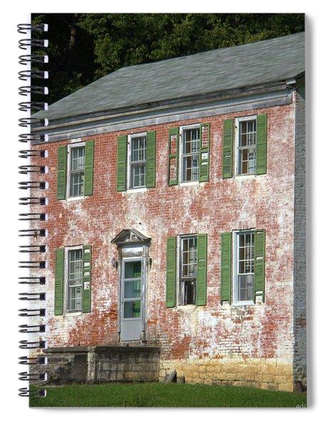 Green Town Spiral Notebook
