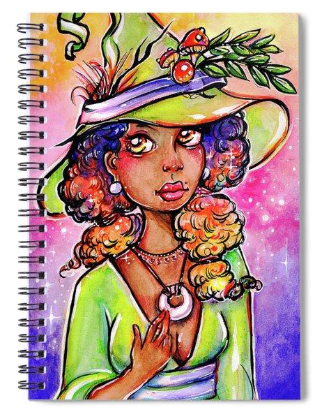 Green Witch Spiral Notebook