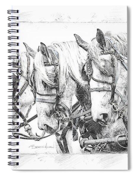 Grey Trio Spiral Notebook