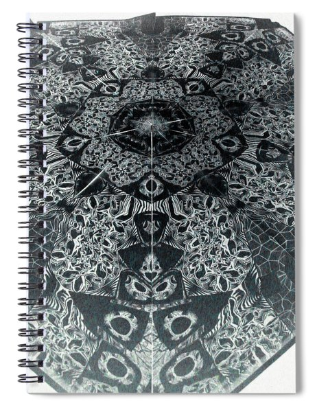 Grillo Inverse Spiral Notebook