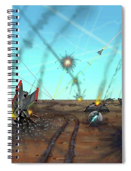 Ground Battle Spiral Notebook