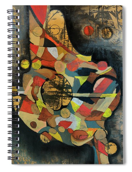 Grounded In Art Spiral Notebook