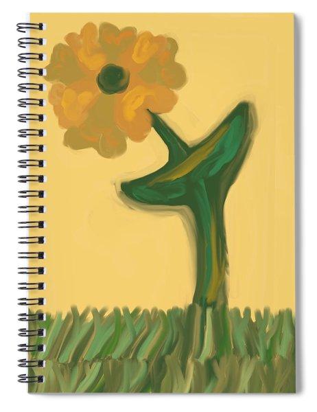 Growing Bronze Spiral Notebook