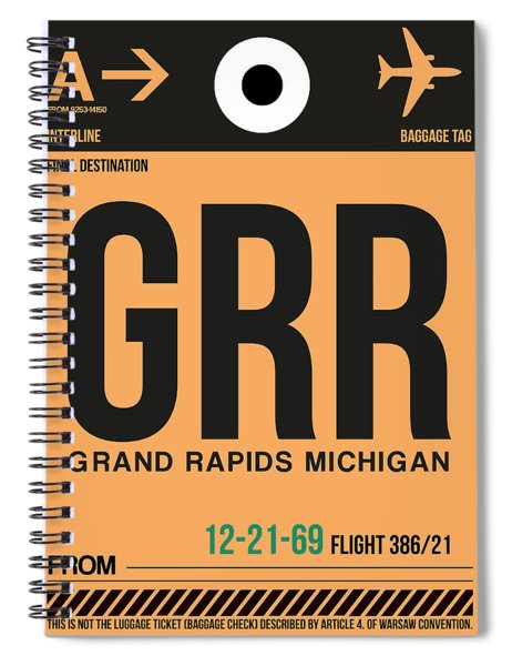 Grr Grand Rapids Luggage Tag I Spiral Notebook