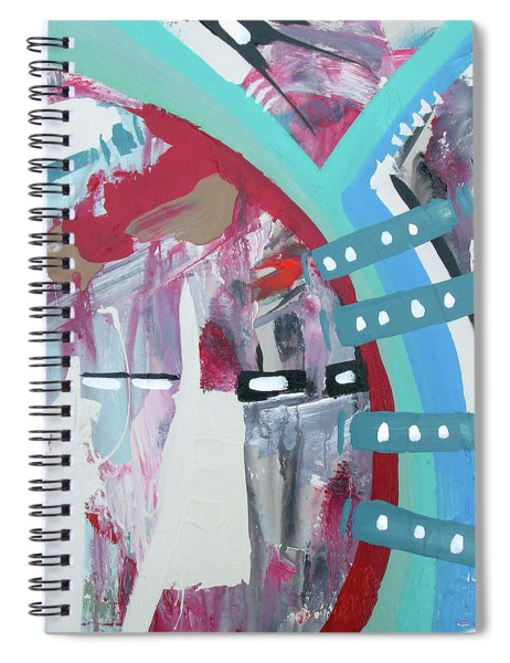 Guitar Rythm Spiral Notebook