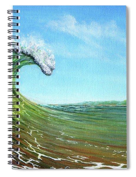 Gulf Of Mexico Surf Spiral Notebook