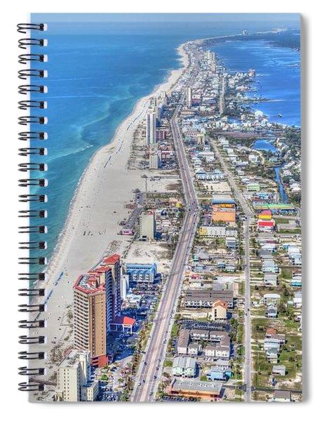 Gulf Shores 7124 Spiral Notebook