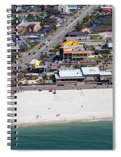 Gulf Shores Beach 7139 Spiral Notebook