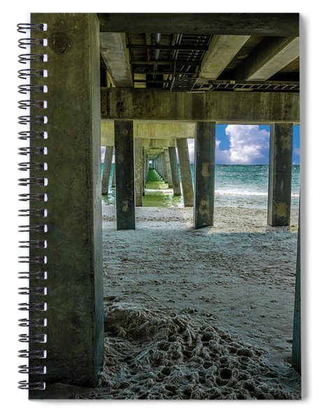 Gulf Shores Park And Pier Al 1649b Spiral Notebook