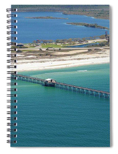 Gulf State Park Pier 7464n Spiral Notebook