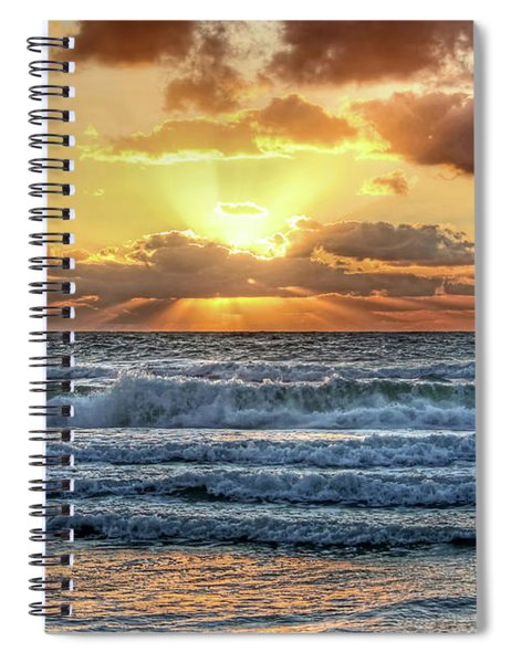 Gulf Waters Spiral Notebook