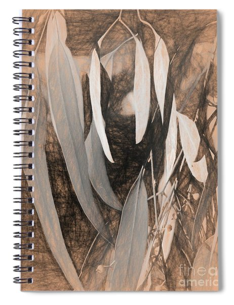 Gum Leaves Spiral Notebook