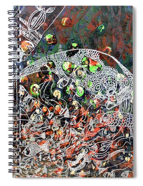 Gwe Kabaka Jesus Lord Of The Seas Reaping His Harvest As Inspired By The Popular Luganda Hymn Spiral Notebook