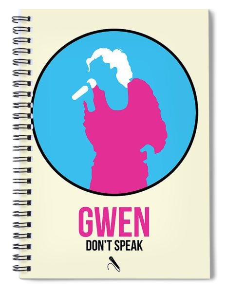 Gwen Poster II Spiral Notebook