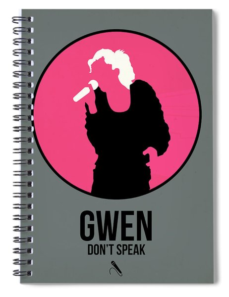Gwen Stefani Spiral Notebook