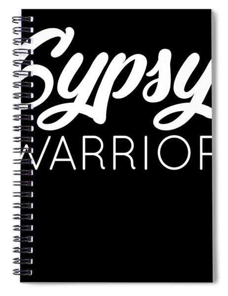 Gypsy Soul Heart Adventure Travel Tshirt Gypsy Warrior Spiral Notebook