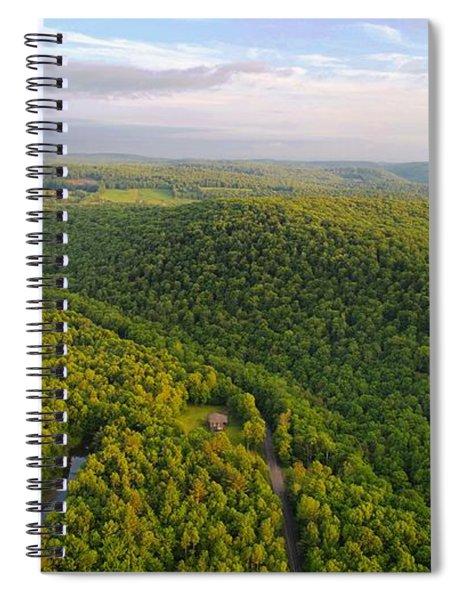 H I L L S Spiral Notebook