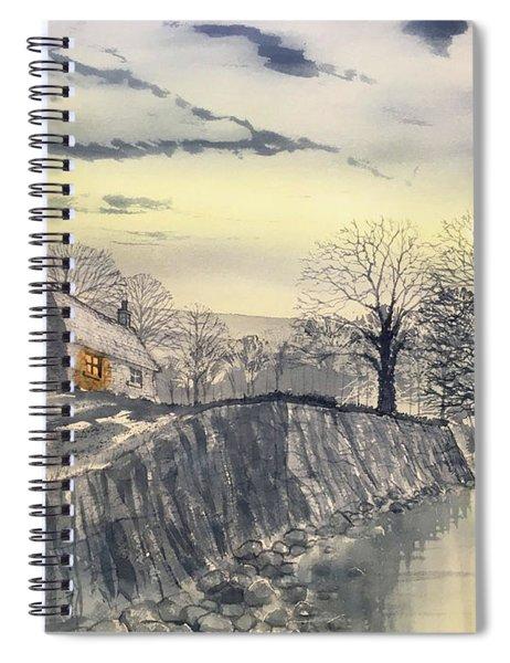 Hag Dyke By Moonlight Spiral Notebook