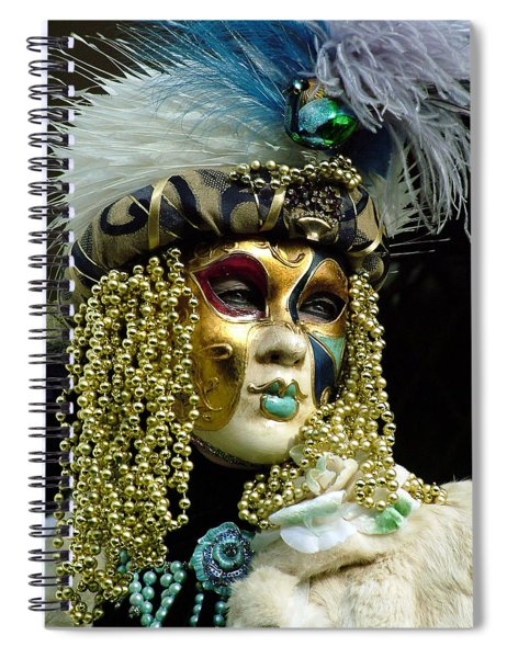 Hair Of Gold Beads Spiral Notebook
