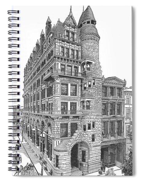Hale Building Spiral Notebook