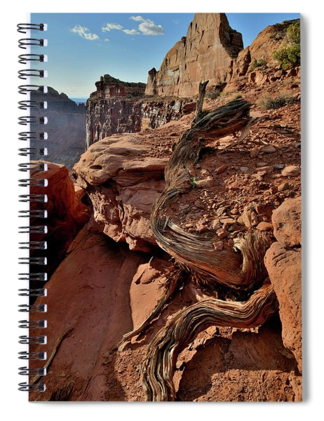 Half Dome At Green River Overlook In Canyonlands Spiral Notebook