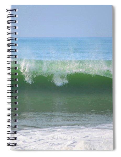Half Monn Breaker Spiral Notebook