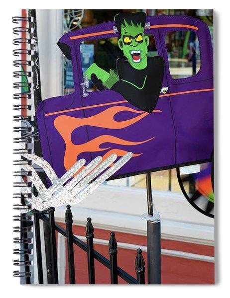 Halloween Pinwheel Spiral Notebook