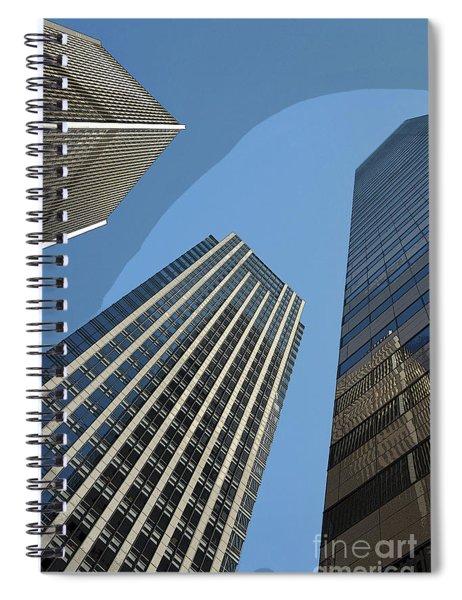 Halo Effect Spiral Notebook