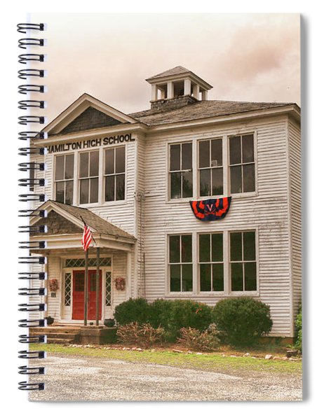 Hamilton High School In Cumberland County Virginia Spiral Notebook
