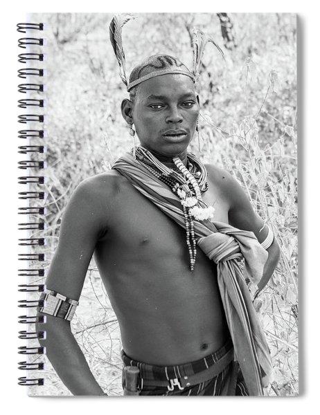 Hammer Boy Spiral Notebook