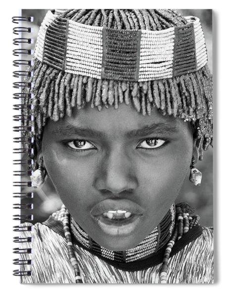Hammer Girl Spiral Notebook