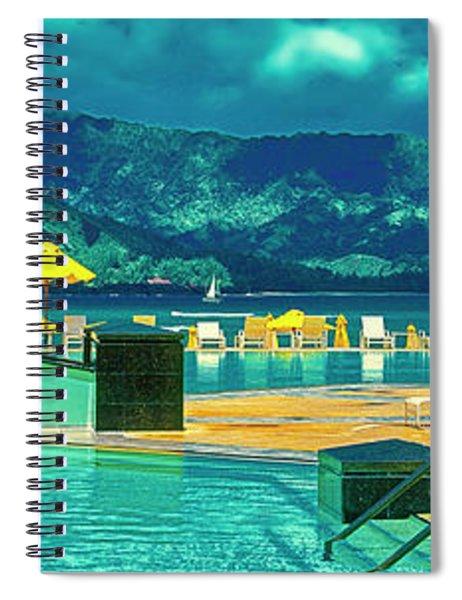 Hanalei Bay Bali Hai Kauai Spiral Notebook