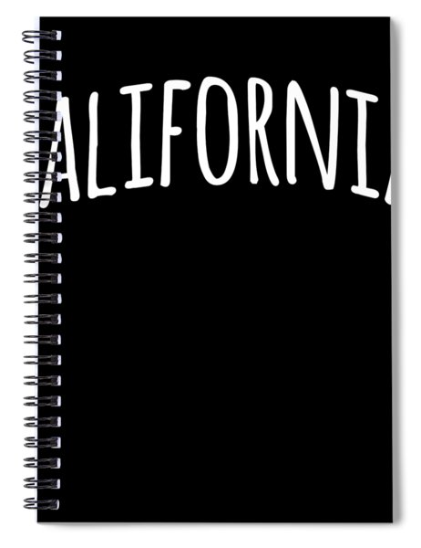 Hand California Spiral Notebook