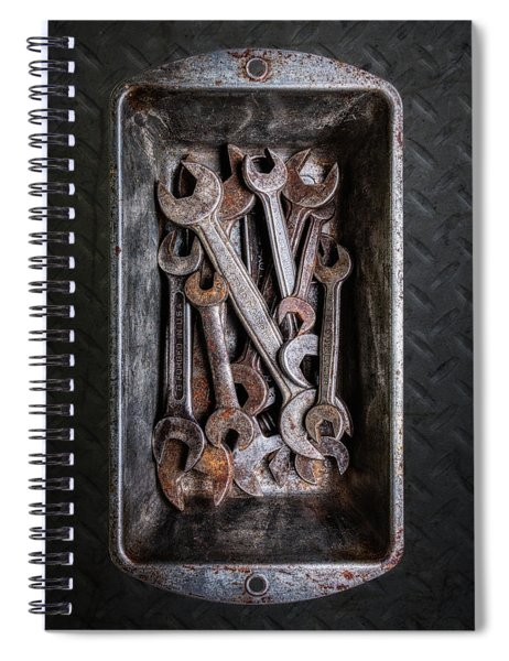Hand Tools - Wrenches Spiral Notebook