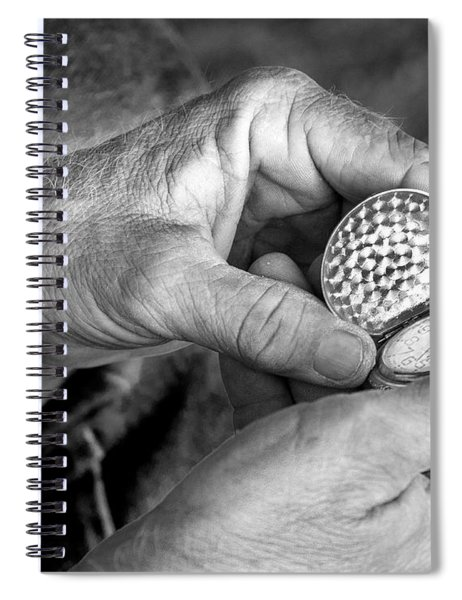 Hands Of Time Spiral Notebook
