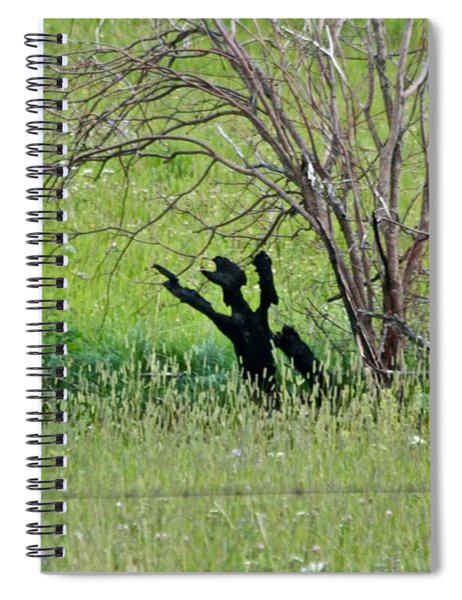 Hands Up Spiral Notebook