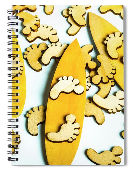 Hang Ten  Spiral Notebook