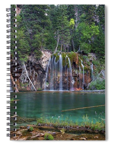 Hanging Lake Colorado Spiral Notebook