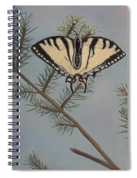 Hanging On To Summer Spiral Notebook