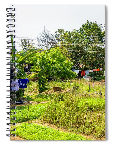 Hanging Out To Dry In Vietnam Spiral Notebook