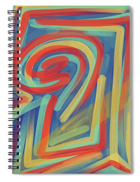 Happy Cyclops Spiral Notebook