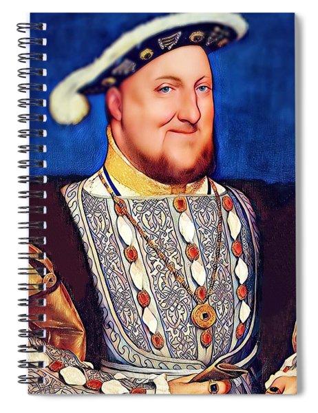 Happy Henry Spiral Notebook