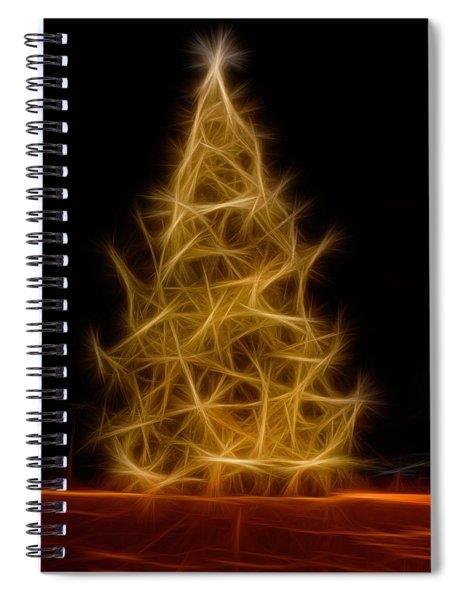 Happy Holidays Tree Spiral Notebook