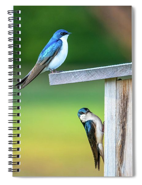 Happy Home Spiral Notebook