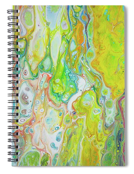Spiral Notebook featuring the painting Happy In Hawaii by Lisa Smith
