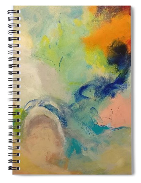 Happy Motions Spiral Notebook