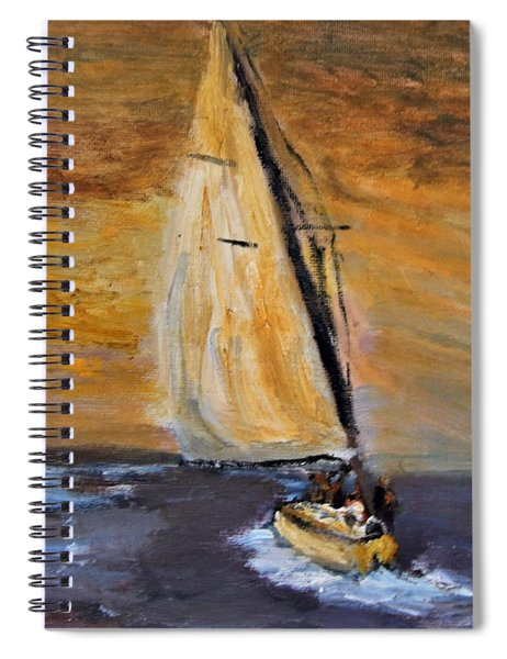 Happy Sails To You Spiral Notebook