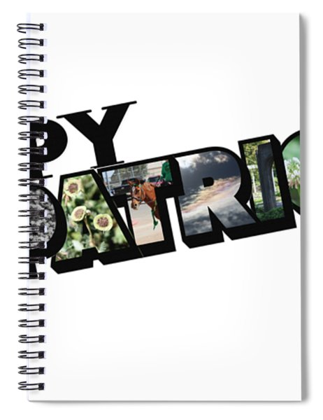 Happy St. Patrick's Day Big Letter Spiral Notebook