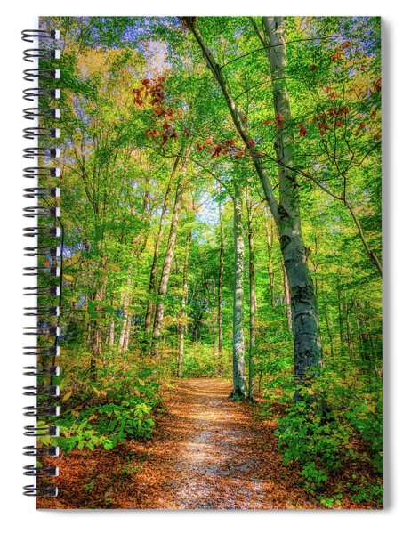 Happy Trails Spiral Notebook