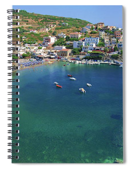 Harbor Of Bali Spiral Notebook